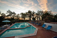garden holiday home in Tuscany swimming pool