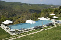 Holiday home Swimming pool hill Chianti Italy