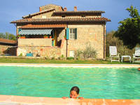 Vacation in Tuscany garden Swimming pool B&B Gambassi