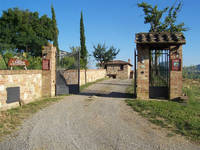 Chianciano Terme Villas with private pool.